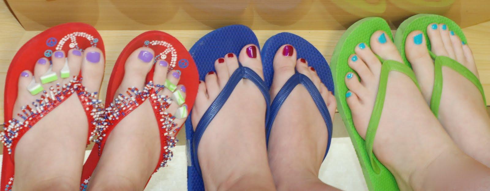 Get Those Toes Ready for Spring Break   Prairie Elementary PTA