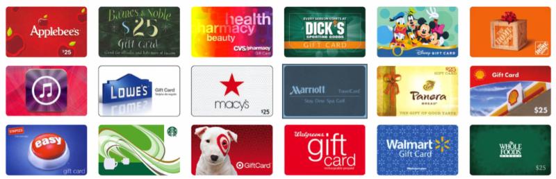 Scrip Gift Cards Make Shopping Easy