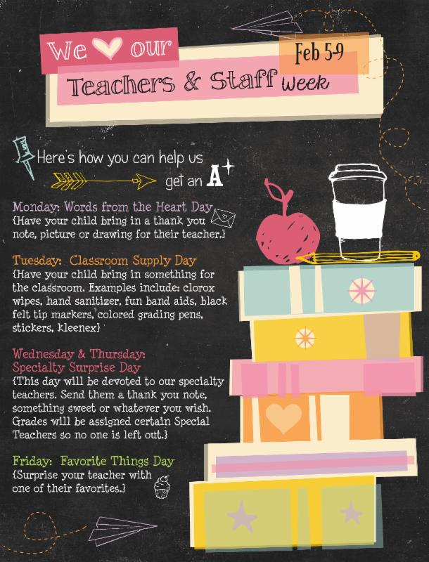 US Teacher Appreciation Week